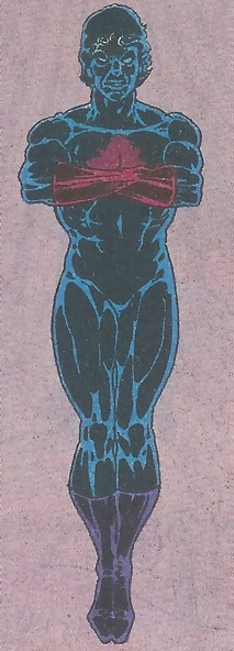 Art by Michael Adams from Captain Atom #54